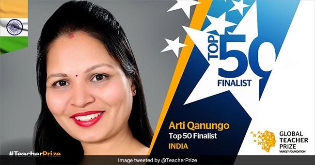Delhi Government School Teacher In The Race For Global Teacher Prize