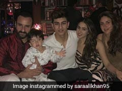 Inside Sara Ali Khan's Christmas Celebrations With Saif Ali Khan, Kareena Kapoor, Ibrahim And Taimur