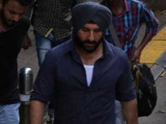 Saif Ali Khan Had A Special Visitor On The Sets Of <I>Sacred Games 2</I>. See Pics