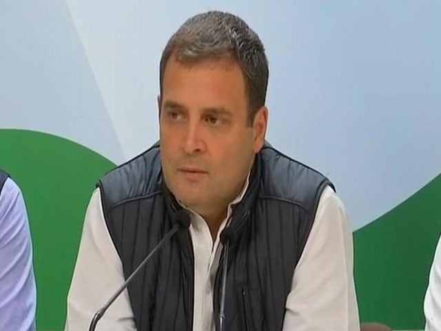 """Video : """"Will Be Tough For PM To Win Elections, It's Very Clear"""": Rahul Gandhi"""