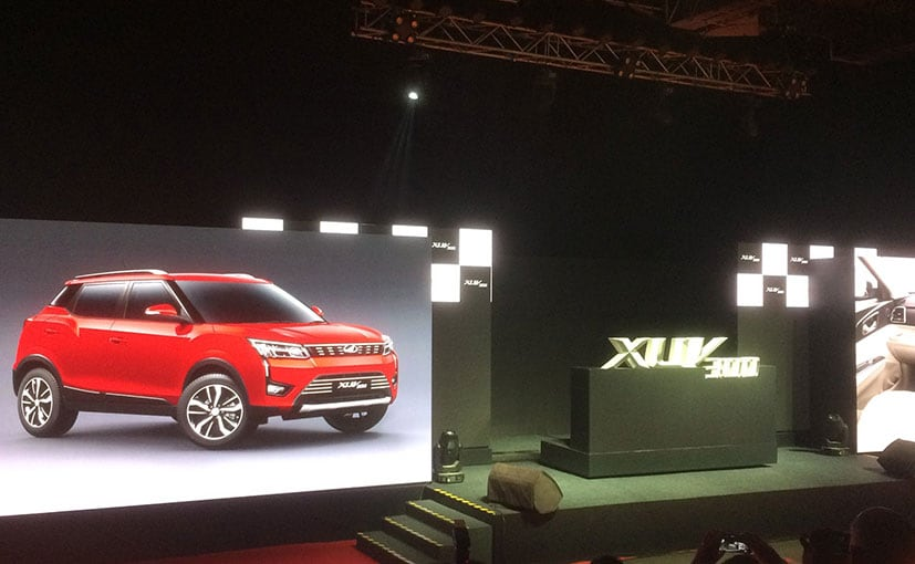 Mahindra XUV300 will be launched in February 2019.