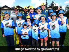 India vs Australia: Nathan Lyon And Peter Siddle Put Smiles On Disabled Kids