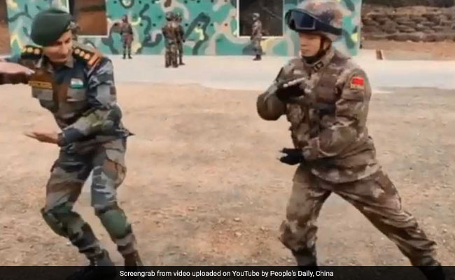 Watch: Chinese Soldier's Lesson For Indian Officer Gets 'A' On Twitter