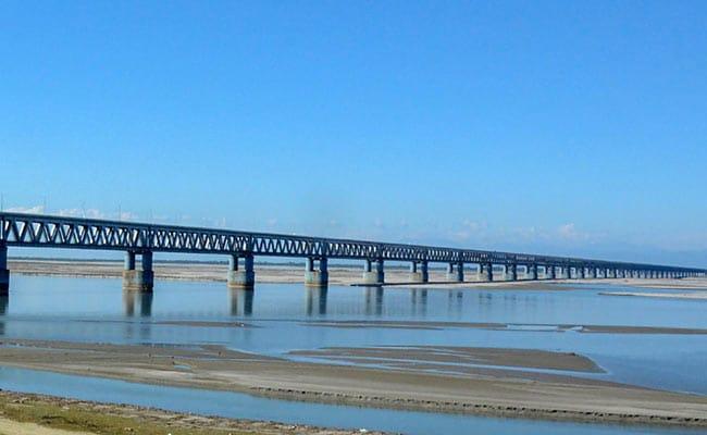 Railroad Bridge On Brahmaputra May Hit Ferry Business, Say Boatmen