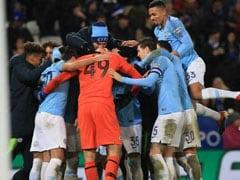 Manchester City Survive Shoot-Out To Reach League Cup Semis