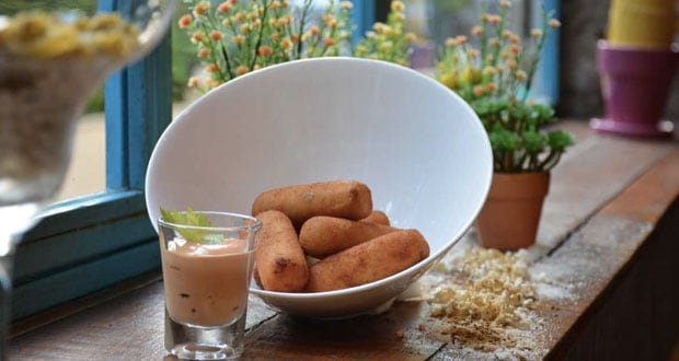 Clotted Cottage Cheese Croquettes