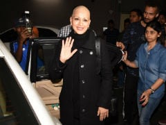 Sonali Bendre Returns To Mumbai, 'Cancer Treatment Over For Now,' Says Husband Goldie Behl