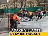 Video : How Ice-Hockey At 14,000 Feet Binds Villages Near China