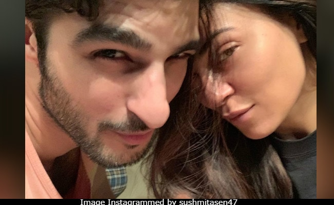 Sushmita Sen Gets All Mushy As She Posts Pic Of Boyfriend Rohman Shawl