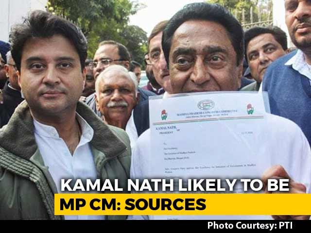 Video : Kamal Nath For Madhya Pradesh, Jyotiraditya Scindia Offered Deputy: Sources