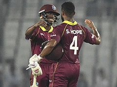 Shai Hope Powers Windies To Series-Levelling Win Against Bangladesh