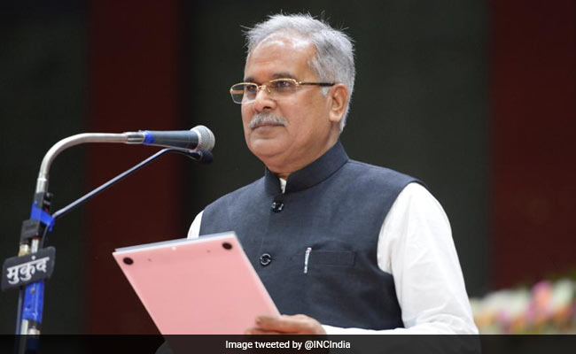 Bhupesh Baghel Sworn-In As Chhattisgarh Chief Minister: Highlights