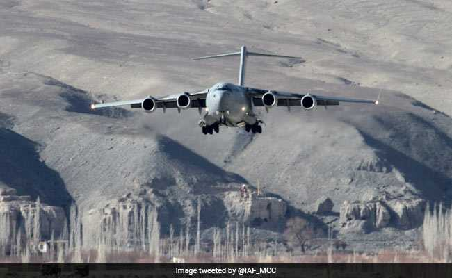 Air Force Lifts Record Load In 6 Hours From Chandigarh To Ladakh