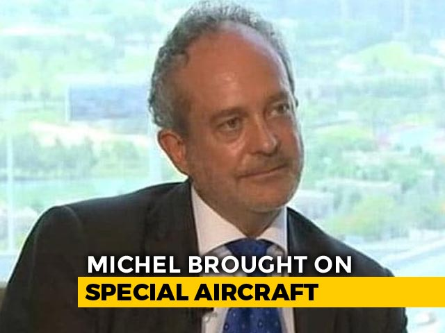 Video : VVIP Chopper Case Accused Christian Michel Lands In Delhi