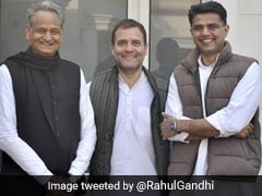 """United Colours Of Rajasthan"": Rahul Gandhi Hints Top Post Tussle Over"