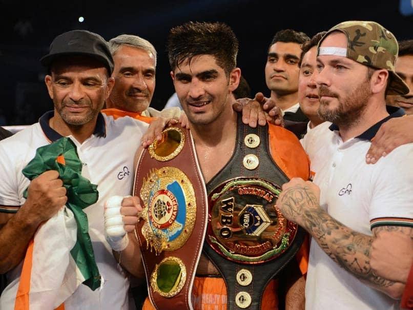 Vijender Singh Eyes World Title Fight Against Canelo Alvarez At Madison Square Garden