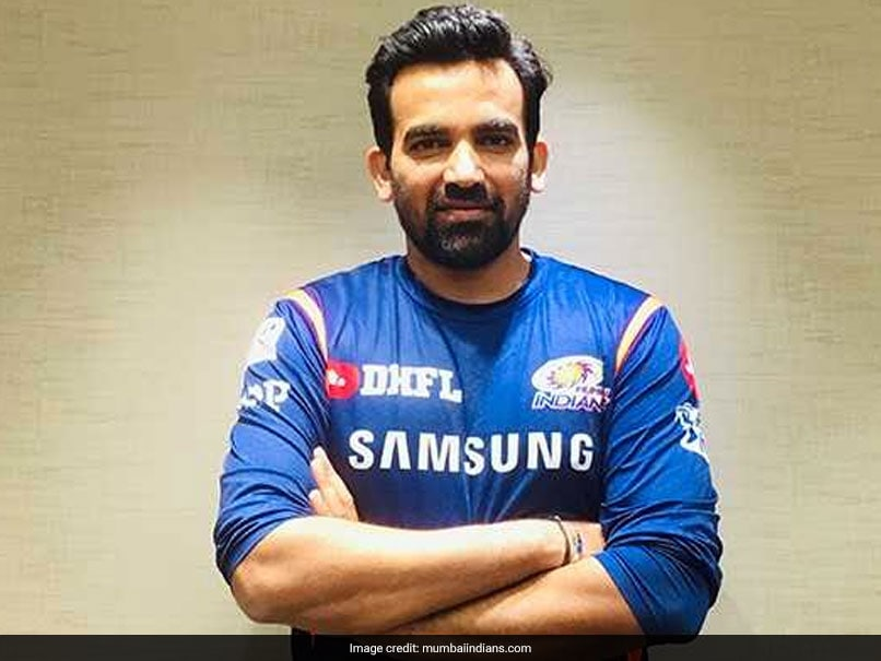 IPL 2019: Mumbai Indians Appoint Zaheer Khan Director of Cricket Operations