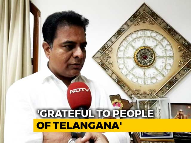 Video : Why KTR Is Disappointed Despite TRS Victory In Telangana: NDTV Exclusive