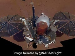 NASA's InSight Sends Back First Selfie On Mars