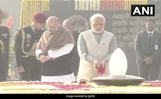 Atal Bihari Vajpayee's Memorial Inaugurated; President, PM Offer Tributes