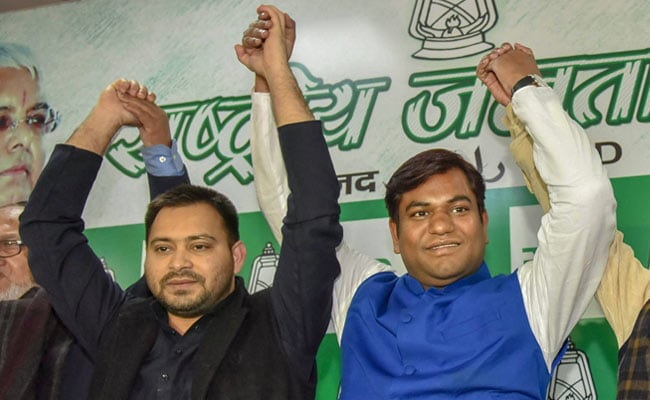 Tejashwi Yadav Welcomes New Entrant To Mahagathbandhan In Bihar