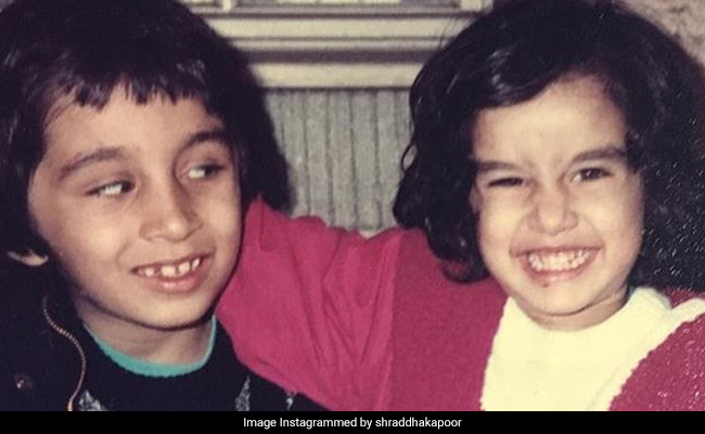 Shraddha Kapoor Smiling Ear-To-Ear In Old Pic Is What Childhood Memories Are Made Of
