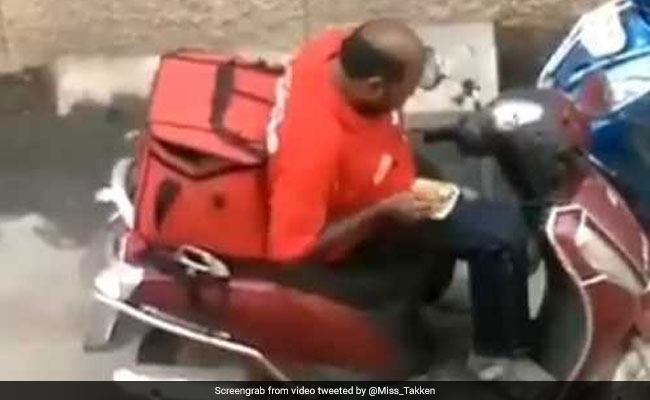 Zomato Responds To Viral Video Of Delivery Executive Eating Customers' Food