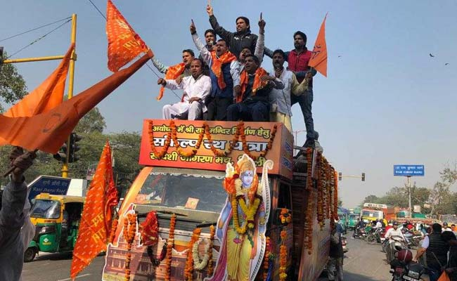 Barely 100 Turn Up For Ram Temple Rally In Delhi, RSS Expected Lakhs