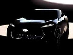 Infiniti Teases New Electric Crossover Ahead Of Debut In Detroit