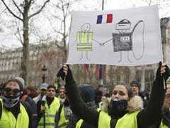 Anger At Emmanuel Macron Grows As Yellow Vest Protests Continue In France