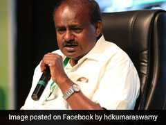 """HD Kumaraswamy Chief Minister Till Friday"": BJP Leader Sadananda Gowda"