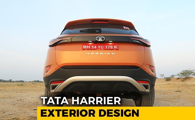 tata harrier exterior design  features