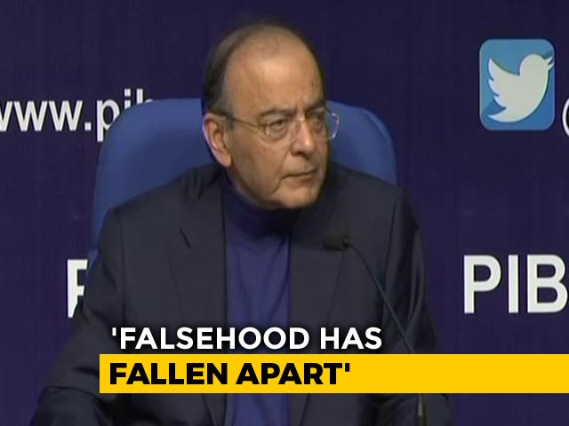 "Video : ""Falsehood Has Fallen Apart,"" Says Arun Jaitley On Big Rafale Verdict"