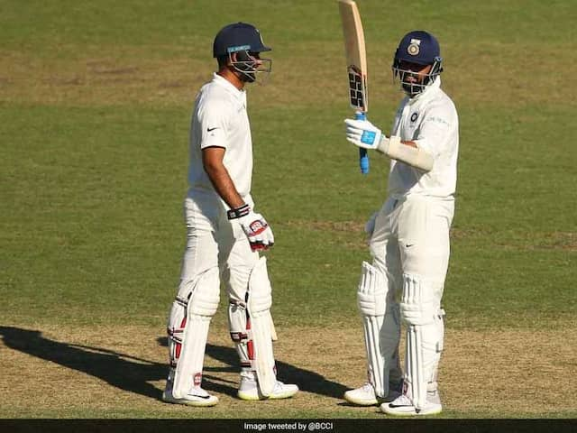 Murali Vijay Slams 26 Runs In An Over To Bring Up His Century As Warm Up Match vs CA XI Ends In Draw