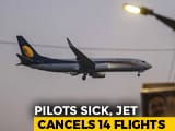 Video : Jet Cancels 14 Flights As Pilots Report 'Sick' Amid Salary Defaults