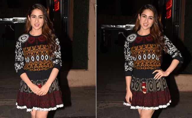 Dresses For Winter? Sara Ali Khan Shows Us How