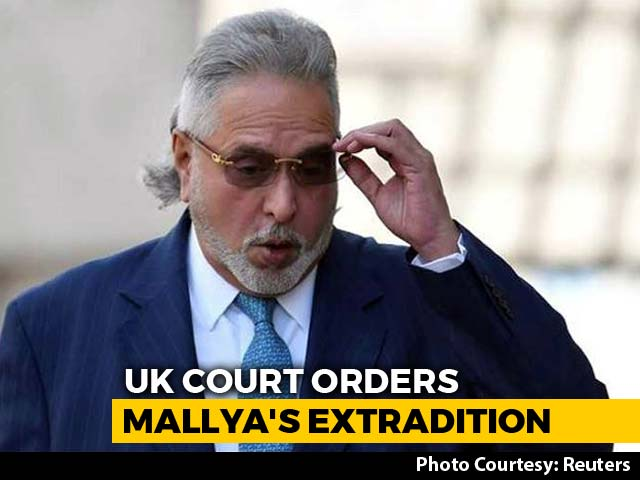 Video : Vijay Mallya To Be Extradited Rules London Court