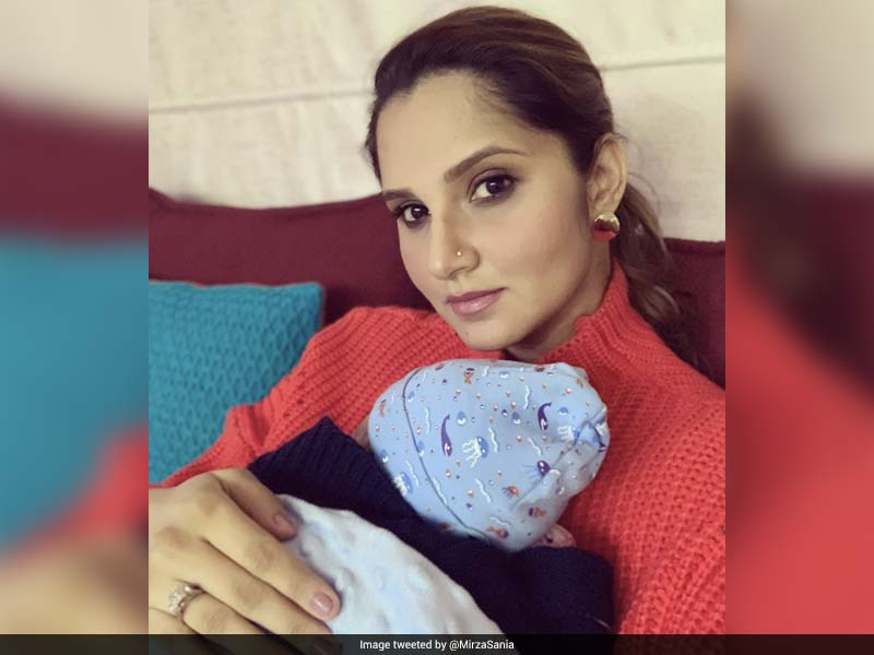 Sania Mirza Tweets Picture With Son Izhaan, Says Difficult Staying Away From Him