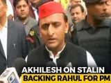 "Video : Not Alliance Opinion, Says Akhilesh Yadav On ""Rahul Gandhi-For-PM"""