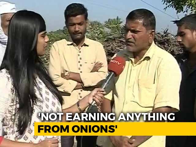 Video : Wanted To Highlight Low Returns, Says Nashik Farmer Who Sent Income To PM