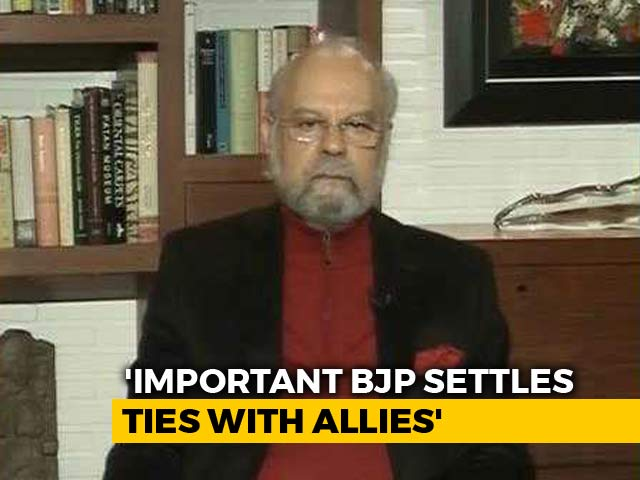 """Video : """"You Won't get Even 200 Seats If..."""": Ally Warns BJP After Poll Losses"""