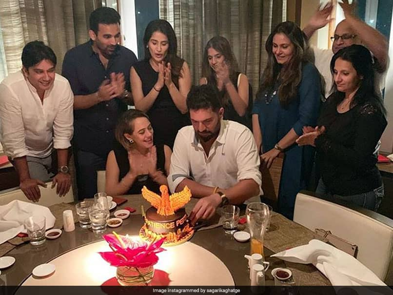 Yuvraj Singh Celebrates 37th Birthday By Partying With Wife Hazel Keech, Zaheer Khan And Others