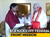 Video : KCR Begins Whirlwind Tour For Federal Front, First Stop Bhubaneswar