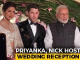 Video : Priyanka Chopra And Nick Jonas' Delhi Reception: Yes, PM Modi Was There
