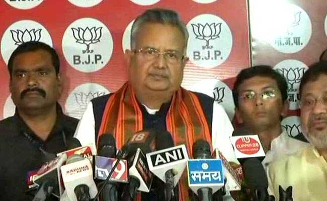 'Will Remain In State Politics': Raman Singh After Chhattisgarh Result