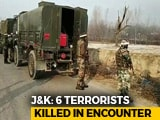 Video : Deputy Of Kashmir's Most Wanted Terrorist Among 6 Killed In J&K's Pulwama