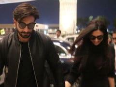 Deepika Padukone, Ranveer Singh Check Out Of Mumbai For Destination Honeymoon