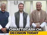 Video : 4 In Race For Chhattisgarh Top Job, Name To Be Announced Today