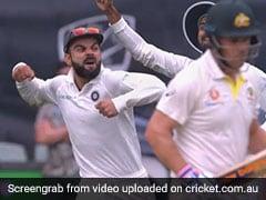 India vs Australia: Virat Kohli Sets Adelaide Alight With Fiery Celebration As Ishant Sharma Dismisses Aaron Finch - Watch