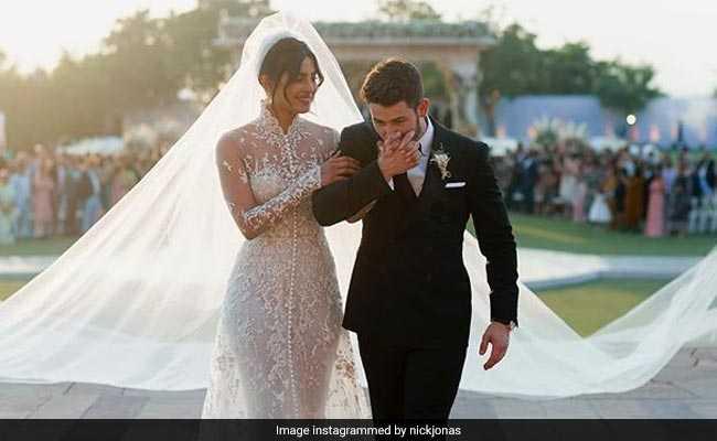 Nick Jonas Celebrates One Week Of Wedding To Priyanka Chopra With Adorable Post